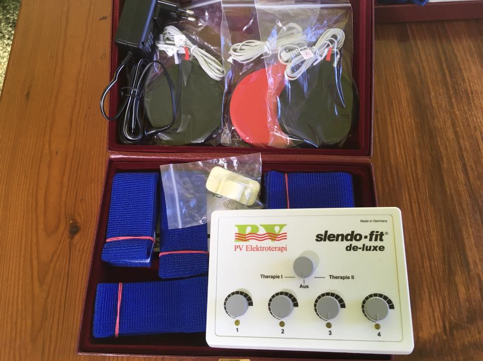 Slendo-Fit is used for electrotherapy